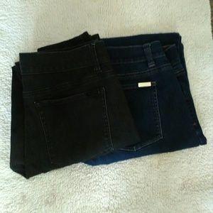 Bundle of WHBM skinny leg jeggings